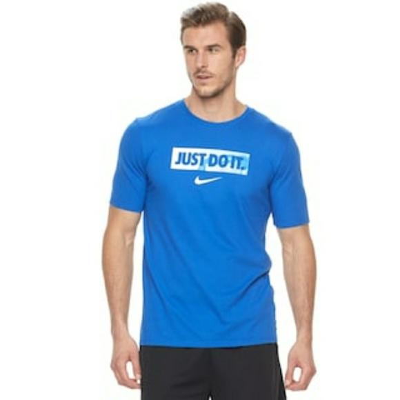 13e6b3d0 Nike Shirts | Big Tall Dry Just Do It Basketball Tee | Poshmark